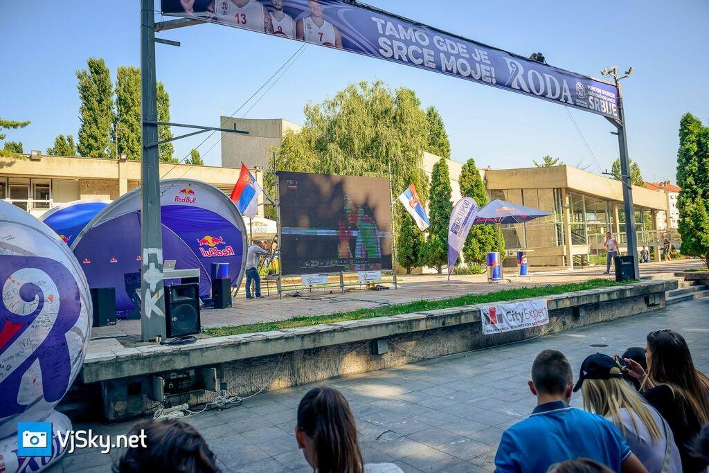 Србија искључила Нокиу! Стотине студената гледало меч у Студењаку