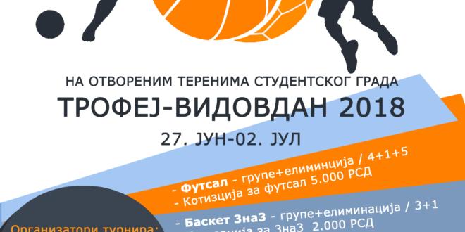 Трофеј Видовдан 2018